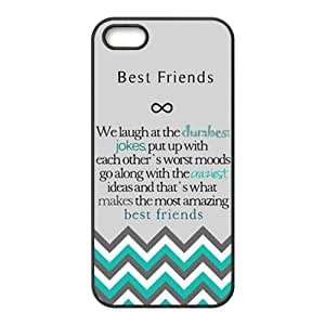 Design For You The Meaning For Best Friends IPhone 5 Rubber Cover Case