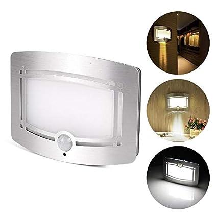 Lámpara de pared de inducción del cuerpo humano Sensor de movimiento con control de luz LED