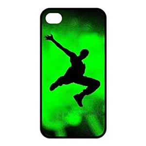 Parkour The Earth Custom Phone Case For iPhone 4 4S TPU Rubber Case Cover Skin
