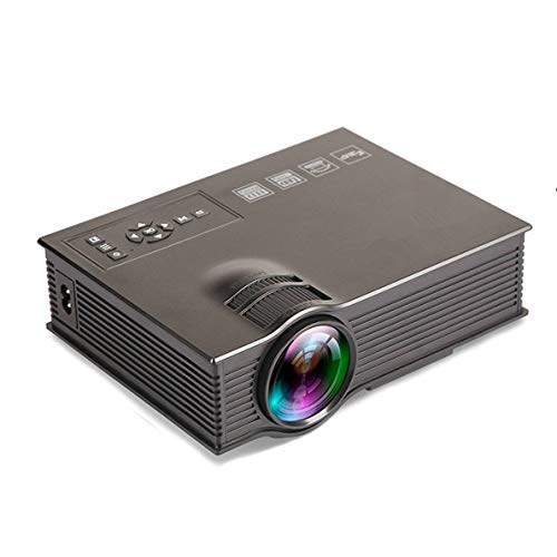 Mcwell Mini Projector, Portable LED LCD Projector 1000 Lumens Multimedia Beamer Portable Home Cinema Theater Projectors with USB/AV/HDMI for Video Movie Game Home Entertainment for $<!--$75.99-->
