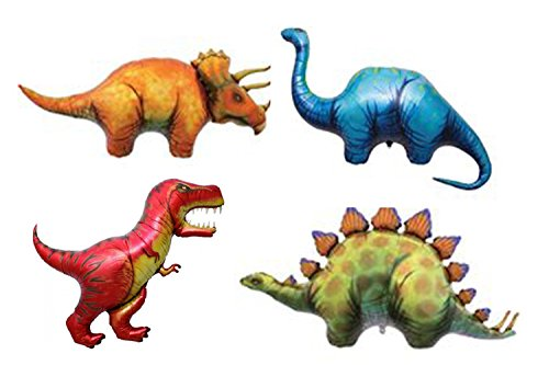 Foil Mylar Balloons Ancient Reptiles Jurassic Party Decor ()