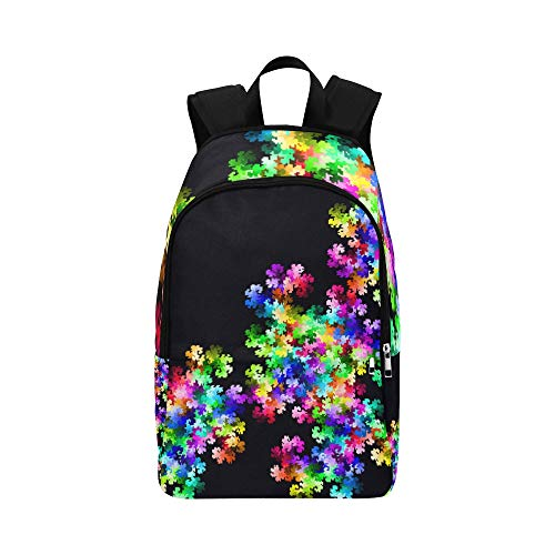(XINGCHENSS Pix Pixel Color Colour Design Art Casual Daypack Travel Bag College School Backpack for Mens and Women)