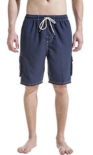 - Akula Men's Quick Dry Swim Trunks Solid 9