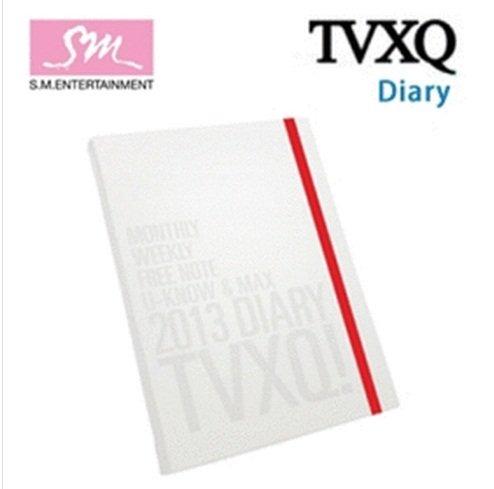 Kpop Items, DONG BANG SHIN KI TVXQ TOHOSHINKI 2013 SM OFFICIAL DIARY