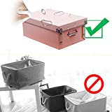 Storage Boxes, Foldable Storage Bins with Lid and