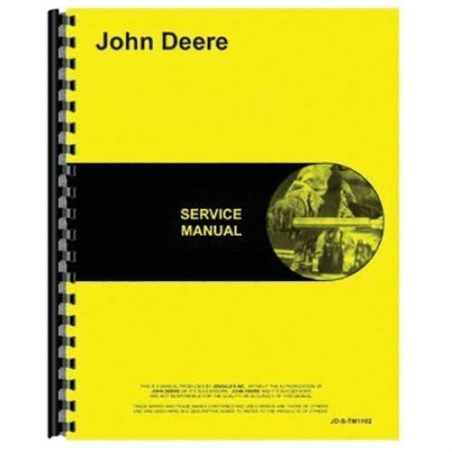 JOHN DEERE 455E CRAWLER LOADER SERVICE MANUAL