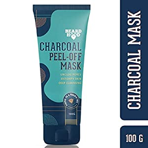 Beardhood Charcoal Peel Off Mask, 100g