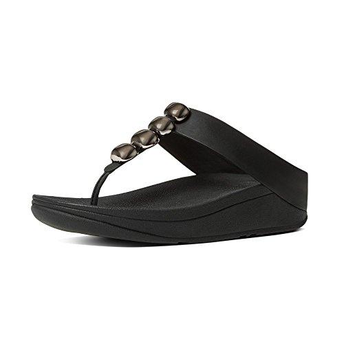 Fitflop Rola Sandal (9 B (m) Oss, Svart)
