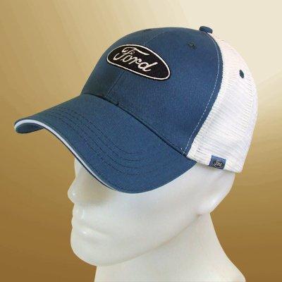 Ford Logo Blue Mesh Back Baseball Hat Baseball Cap HRP 4350412176