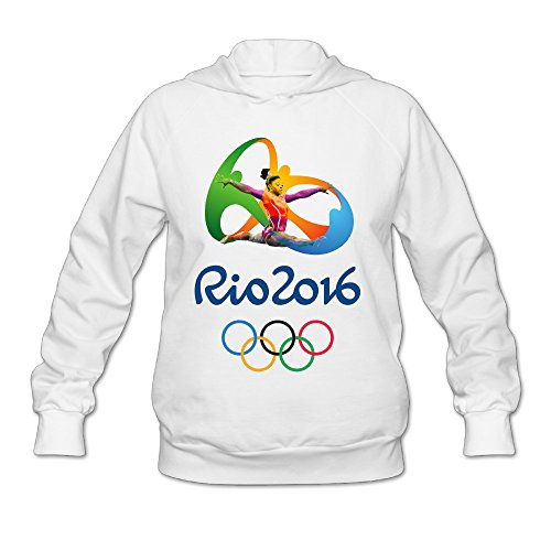 Fennessy Women's Sweater Simone The Gymnasts Biles Size XXL White