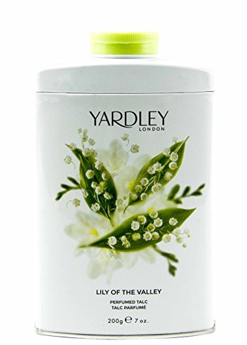 (Yardley of London Lily of the Valley Perfumed Talc, 7 Oz, Made in England - NEW FORMULA)