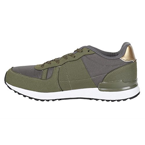 Lotto Men Rochester Leisure Olive/Golden Shoes 6