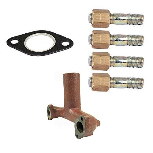 - Replacement Aftermarket Vertical Exhaust Manifold Kit Ford New Holland Dexta Super Dexta