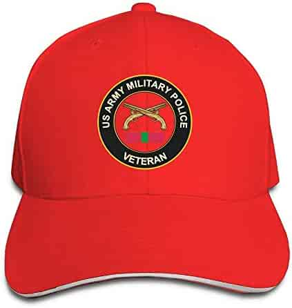 bbfff76050d4d5 US Army Military Police Veteran Men's Baseball Cap Retro Peaked Dad Hat