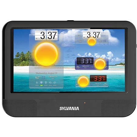(Sylvania SLTDVD9220 3-in-1 9-Inch Touchscreen Tablet, Portable DVD Player and DVD Combo with Android, 1.2GHz Quad Core)