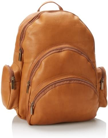 David King Co. Expandable Backpack, Tan, One Size