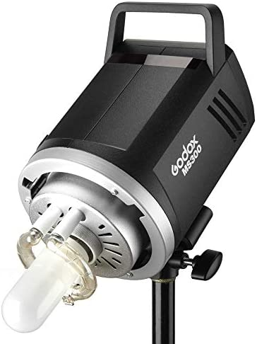 Godox MS300 Compact Studio Flash 300W 2.4G Wireless Monolight with 150W Modeling Lamp,Outstanding Power Output Stability,Anti-Preflash,Bowens Mount,5600/±200K CCT,0.1~1.8S Recycle Time