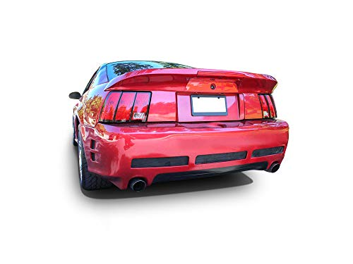 KBD Body Kits Compatible with Ford Mustang 1994-1998 Sallen 2 Style 1 Piece Flexfit Polyurethane Rear Bumper. Extremely Durable, Easy Installation, Guaranteed Fitment, Made in the USA!