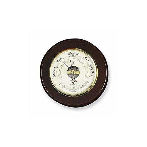 Best Birthday Gift Cherry Wood Barometer and Thermometer