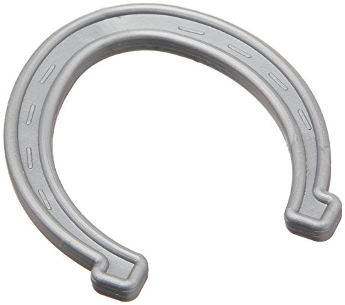 Small Plastic Horseshoes - Silver (Small Plastic Horseshoes)