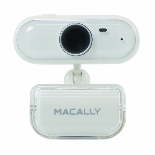Macally ICECAM2 USB 2.0 Video Web Camera with Built-in Microphone (White) (Laptop With Windows Xp Loaded)