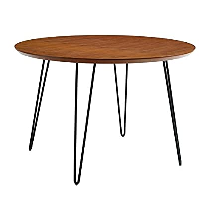 Round Coffee Table Hairpin Legs 5