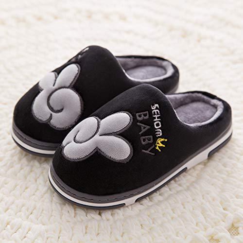 Pantofole Per Termiche La Esterni Traspiranti Cotone Caldo Baby Ed Uomo Donna Black Interni Casa Primavera Scarpe gFFB5qrw