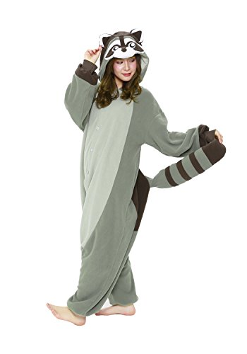Kigurumi Animal Adults Onesie (Adults  Raccoon) for $<!--$68.00-->