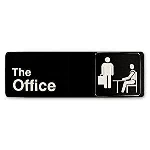Amazon.com: The Office Sign: Office Products