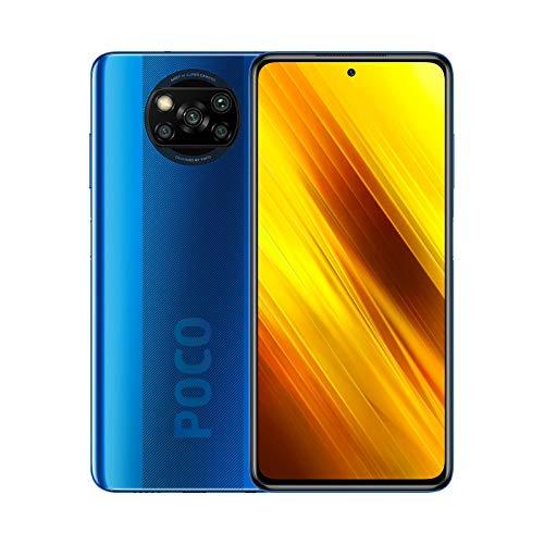 "POCO X3 NFC – Smartphone 6 + 128GB, 6.67"" FHD+ cámara frontal con Punch-hole Display, Snapdragon 732G, 64 MP con IA…"