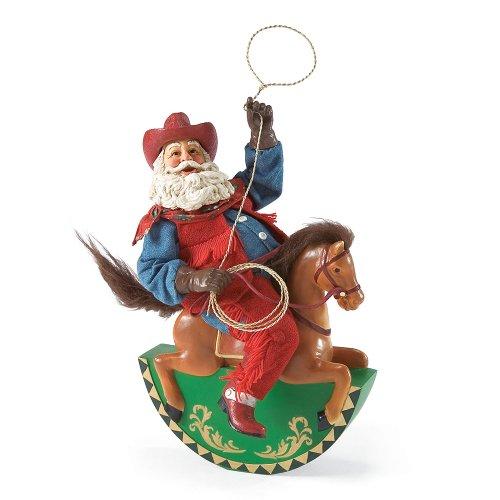 Department 56 Possible Dreams Cowboy Up Santa, 11.81 -