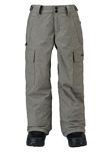 Burton Boys Exile Cargo Pants, Heathers, Large by Burton