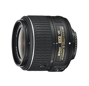 Nikon AF-S DX NIKKOR 18-55mm f/3.5-5.6G Vibration Reduction VR II Zoom Lens with Auto Focus for Nikon DSLR Cameras (Certified Refurbished)