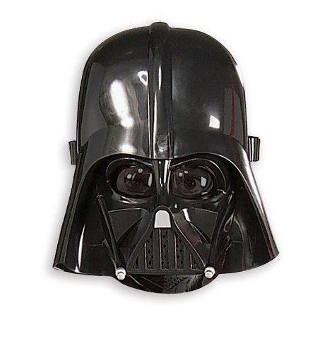 [Rubies Star Wars Darth Vader Molded Mask] (Star Wars Darth Vader Adult Plus Costumes)