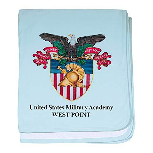 CafePress USMA Crest Baby Blanket, Super Soft Newborn Swaddle (West Point Cotton Soft Blanket)
