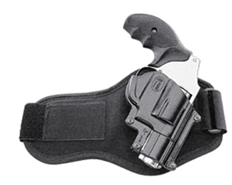 Fobus Ankle (Leg) Hand Gun Holster Model JSW-3-A  Fits to: Smith & Wesson  36, 37, 60, 442, 637, 642, 642LS, All Shrouded 38