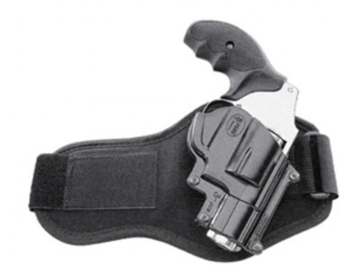 Fobus Ankle (Leg) Hand Gun Holster Model JSW-3-A. Fits to: Smith & Wesson 36, 37, 60, 442, 637, 642, 642LS, All shrouded 38.
