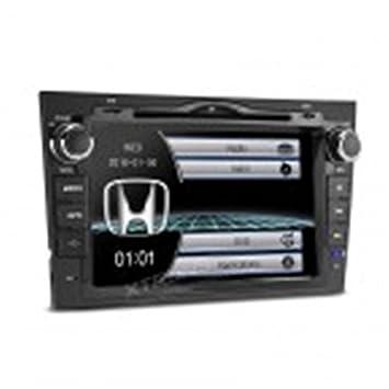 Radio/DVD/Pantalla Táctil, navegador GPS, Bluetooth Honda CRV: Amazon.es: Electrónica