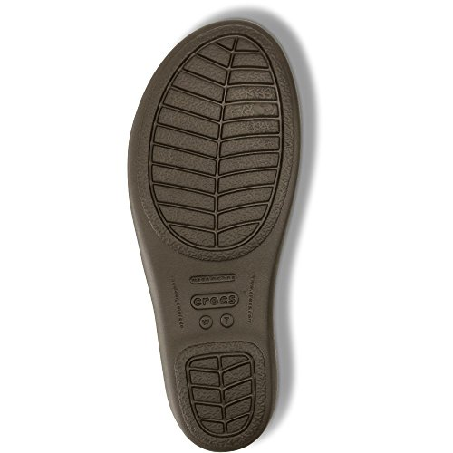 Crocs Rhonda Wedge Sandal, Zuecos Para Mujer Expreso/seta