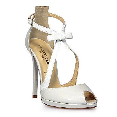 FRANCO COLLI Zapatos de Vestir Para Mujer Weiß It - Marke Größe