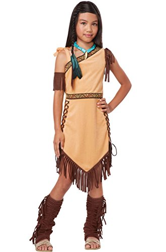 [Mememall Fashion Indian Native American Princess Pocahontas Outfit Girls Child Costume] (Jason Vorhees Masks)