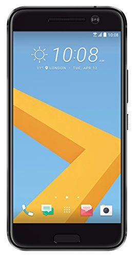 Price comparison product image HTC 10 32GB Single SIM Android Smartphone - Factory Unlocked - International Version with No Warranty (Carbon Grey)