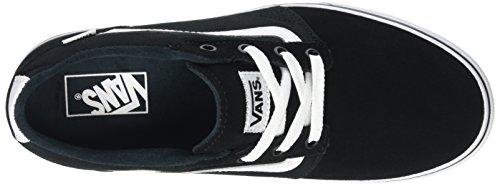 Vans Herren MN Chapman Stripe Sneaker Schwarz (Suede/canvas)