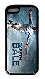 iPhone 6 plus 5.5 Case, iPhone 6 plus 5.5 Cases - Black Soft Rubber Shock-Absorption Bumper Case for iPhone 6 plus 5.5 Gareth Bale Celebration Water Resistant Back Case for iPhone 6 plus 5.5 WANGJING JINDA