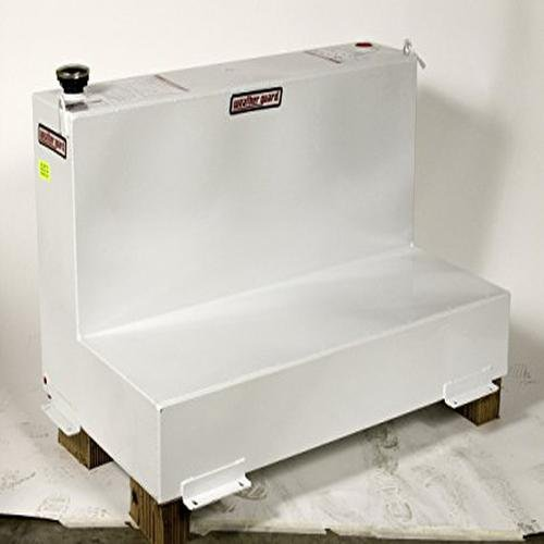 Weather Guard 354301 White Fuel Transfer Tank- 90 Gallon