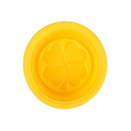 42252d830865 Amosfun Silicone Four Leaf Clover Molds Round Multifunctional Handmade Molds  Mini Cute Baking Molds DIY Soap