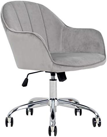 FCQuality Velvet Home Office Desk Chair