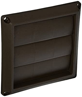 Lambro 2677B dustries Plastic Louvered Vent Hood
