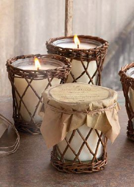 Park Hill Collection Tall Cotton Scented Candle - Bless Your Heart with the Sweetness of Southern Magnolia