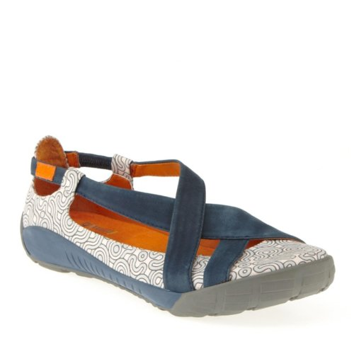 Dimmi Womens Adventure Flat Blue